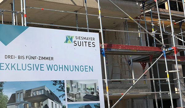 Richtfest der exklusiven Siesmayer Suites in Bad Vilbel